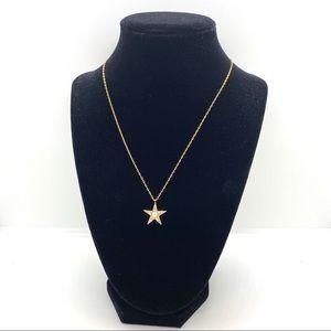 Kate Spade Seeing Stars Pavé Star Necklace